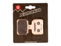 Naraku Brake Pads - HQ Replacement Sintered for Aprilia RS, Derbi, CPI GTR, CF Moto, Peugeot Speedfight 3, Suzuki