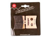 brake pads Naraku sintered for Aprilia SR50, Scarabeo, Baotian BT49QT