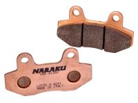 brake pads Naraku sintered for Peugeot Speedfight 3, Hyosung GT, GV