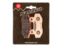 brake pads Naraku sintered for Fly Scooters IL Bello 150 4T