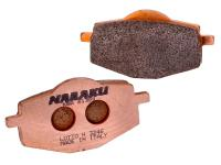 brake pads Naraku sintered for Yamaha Cygnus, TZR, MBK Flame, X-Power
