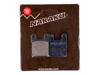 Naraku - Scooter & Motorcycle Parts Shop High-Quality Replacement brake pads Naraku organic for Aprilia, Derbi, Gilera, Italjet, Puch, Peugeot