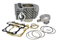 GY6 Naraku Scooter Big Bore 61mm Cylinder Kit Naraku 170cc for SYM Fiddle 150, Kymco Super 8 150, GY6, 152QMI, 152QMJ,157QMI, 157QMJ, ZNEN, GY6 Scooters