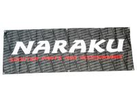 Naraku Performance Parts Fabric Banner 200x70cm Official Naraku Banner for Stores and Race Tracks