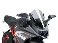 windshield Puig Z-Racing tinted for KTM RC 125, 200, 390 14-