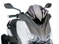 windshield Puig V-Tech Sport dark smoke for Yamaha X-Max 125, 250, 400 14-
