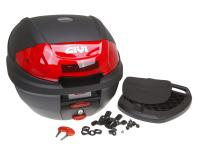 GIVI MONOLOCK Scooter Trunks & Accessories Top Case GiVi E300N2 Monolock Scooter Trunk in Black 30L capacity