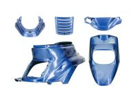 Scooter Parts Body Plastics by TNT - fairing kit Cocktail blue 5-part for MBK Booster