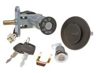 CPI Aragon 50cc Scooter Lock Set with Keys Replacement for Keeway Focus 50, Keeway Fact 50, RY8, CPI Aragon 50 Scooters Includes ignition, storage, and gas cap