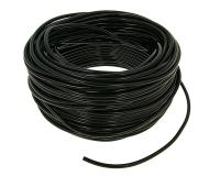 vacuum hose / oil tube CR black 50m reel - 2.5x5mm