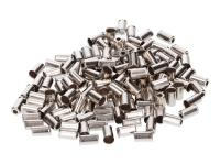 bowden cable end cap metal 6mm 150 pieces