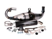 exhaust Yasuni Carrera 40 carbon fiber Scooter Racing for MBK Nitro 50 99-02 55BR