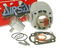 Airsal 50cc Minarelli Cylinder Kit for 50cc 2-Stroke AC Minarelli Horizontal Airsal Sport 40mm with 10mm Pin for Yamaha Minarelli Scooters
