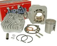cylinder kit Airsal T6 Tech-Piston 69.7cc 47.6mm for Peugeot vertical AC