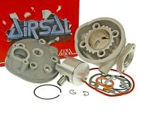 Airsal Kymco Super 9 Racing Cylinder Kit  73.8cc 47.6mm for Kymco Horizontal LC Airsal Sport for Bet and Win LC 50, Super 9 Liquid Cooled Scooters