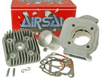 Minarelli Vertical Airsal Cylinder Kit Airsal T6-Racing 69.7cc 47.6mm for USA ZUMA pre 2001 Minarelli Vertical