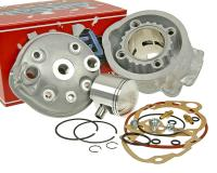 Airsal Performance Cylinder Kit Minarelli AM 76.6cc 50mm for Minarelli AM Engines Aprilia RS50, RX 50, Airsal Sport Series