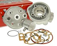 Minarelli Airsal High-Performance Tech-Piston Series Big Bore Cylinder Kit Upgrade Airsal 76.6cc 50mm for Minarelli AM Engines for Aprilia, Beta, Rieju, Yamaha Motorbikes