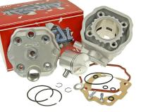 Derbi Airsal Performance Parts & Accessories Shop Upgraded Race Cylinder Kit Airsal Racing 76.6cc 50mm for Derbi Senda GPR, Gilera GSM SMT RCR Zulu Derbi EBE/EBS Motorbikes