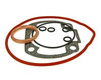 Kymco Airsal Scooter Cylinder Gasket Set Sport 73.8cc 47.6mm for Kymco Horizontal LC Kymco Super 9 LC, Kymco Bet and Win 50 LC Scooters