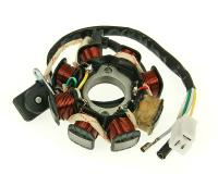 QMB139 Alternator Stator version 2 for GY6 50cc 139QMB / QMA by 101 Octane Scooter Parts