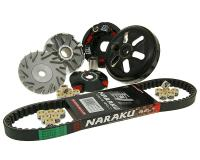 Variator Variomatik NARAKU V.2 Racing Keilriemen LONGJIA LJ50QT 50 2-Takt 16mm