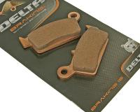Shop Delta Braking Brake Pads HQ Moped & Scooters - Sintered brake pads Delta Braking DB2016SR Honda, Malaguti, Kymco, Sachs