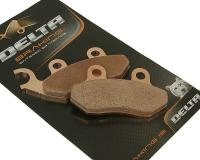 Delta Braking SYM 50 - 250cc Brake Pads sintered DB2021SR for PGO 50cc, Genuine Scooters 50cc, SYM 50cc, SYM HD 200, TGB Scooters