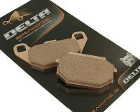 Delta Braking Scooter Brake Pads Sintered DB2023SR for Kymco People S200, Agility 125, Super 8 150, SYM HD200, SYM RV300 by Delta Braking