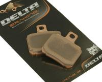 Piaggio Delta Braking Brake Pads Sintered DB2031RD for Derbi GP1 250, Gilera Nexus 500ie, Piaggio Beverly 400ie, Beverly 500ie, X9 500ie Scooters by Delta Braking
