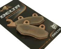 Delta Braking Scooter Brake Pads Sintered DB2200SR for Motard, Enduro, and Scooters by CF Moto, Derbi Senda, Hyosung, Keeway, Kymco Like 50, Kymco Agility 125, Peugeot, TGB Scooter Brake Pads