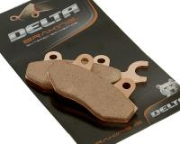 Delta Braking Brake Pads Sintered DB2340SR for Yamaha TZR 50, Kymco Super 9, Kymco Yager, Grand Dink Scooters by Delta Braking