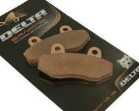 Delta Braking Brake Pads Sintered DB2480RDN for Hyosung Motorcycles, SYM Motorcycles by Delta Braking