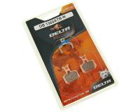 brake pads Delta Braking sintered for Formula Mega, The One, R1, RX, RO, Oval