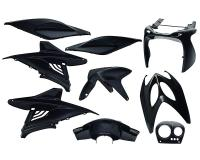 fairing kit black metallic 9 pcs for Aerox, Nitro