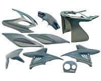 fairing kit flip-flop blue 9 pcs for Aerox, Nitro