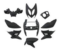 fairing kit black matt - 9 pcs for Aerox, Nitro