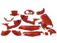 fairing kit orange 15 pcs for Gilera Runner
