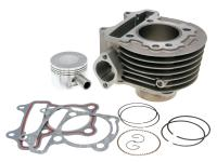 cylinder kit 125cc for China 4-stroke GY6 125 152QMI/157QMJ