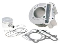 GY6 101 Octane Cylinder Kit 150cc 57.4mm Stock Replacement Complete GY6 152QMI, 157QMJ Cylinder
