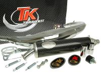 exhaust Turbo Kit Road RQ chrome for Yamaha TZR 50 all models