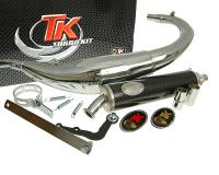 exhaust Turbo Kit Bajo RQ chrome for Yamaha DT50 (04-), MBK X-Limit 04-