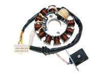 GY6 Alternator Stator 11 coil 6 pins for GY6 125/150cc by 101 Octane Scooter Parts