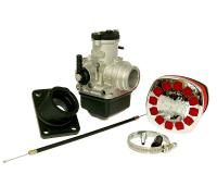 1E40MB Malossi High-Performance Racing Parts Carburetor Kit Malossi MHR PHBH 26 BS for Minarelli AM, Derbi, Generic, KSR-Moto, Keeway, Motobi, Ride, CPI, 1E40MA