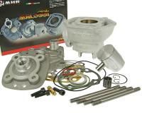Minarelli Malossi Pro-Racing Cylinder Kit Upgrade MHR Series 50cc 12mm for Minarelli  Horizontal 50cc 2-Stroke LC Malossi