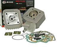Piaggio Malossi Scooter Racing Parts Shop Cylinder Kit Malossi MHR Race-Team Ready T6 Series 70cc for Piaggio AC Engines