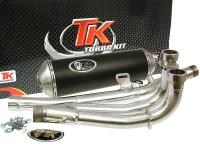 Suzuki Burgman Executive High-Performance Exhaust System by Turbo Kit GMax 4T for Suzuki Burgman 650 Scooters