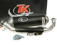 Kymco Racing Exhaust by Turbo Kit GMax 4T for Kymco X-Citing 500 Scooters