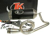 Kymco Racing Exhaust by Turbo Kit GMax 4T Series for Kymco 4T Vitality, Filly, Agility 50 Scooters