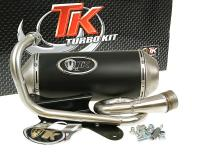 Piaggio Zip Turbo Kit Racing Exhaust GMax 4T for Piaggio Zip 50 4-stroke, Derbi 4-stroke Scooters